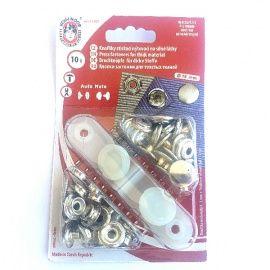 Botones metálicos automáticos (snap) 15mm