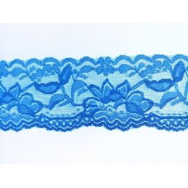 Encaje azul de 55mm con elasticidad