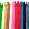 Cremallera con separador 50cm varios colores