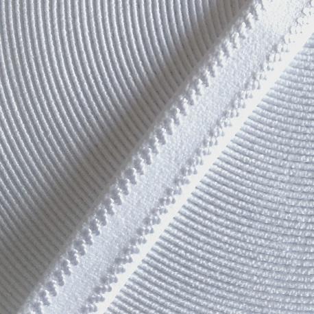 Tirante elástico firme blanco para lenceria
