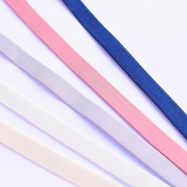 Tirante elástico firme satinado para lenceria