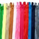 Cremallera con separador 80cm varios colores