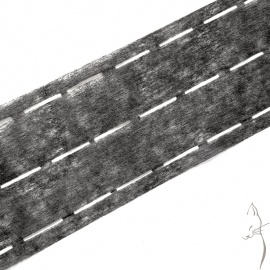 Entretela termofusible para cinturillas y cintas
