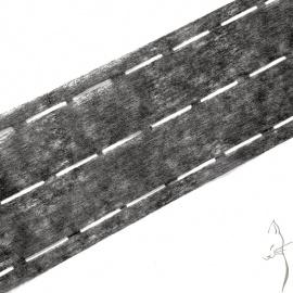 Rollo 100n Entretela termofusible para cinturillas y cintas