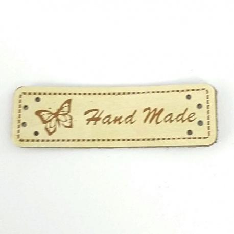 Etiquetas Handmade Piel