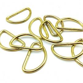 Piquete metálico semicircular de 3cm GOLD