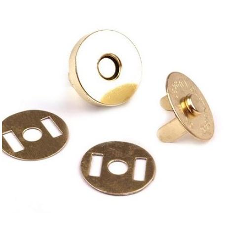 Broche imán Gold de 18mm