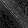 Cinta elástica de 6'7cm con dos bandas de silicona antideslizantes