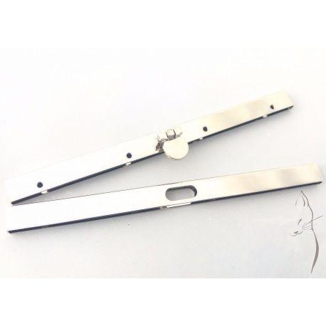 Boquilla recta tipo cofre para carteras y clutch