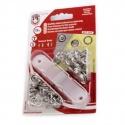 Botones metálicos automáticos (snap) 11mm (bebé) (ARO)