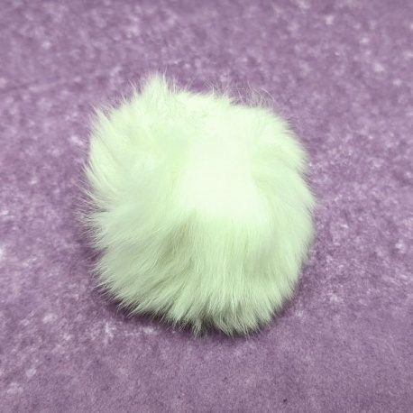 Pompón de pelo 6cm
