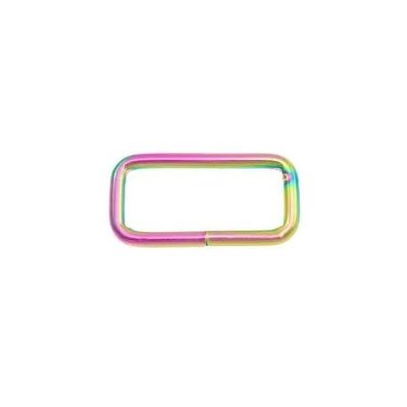 Piquete rectangular Iridiscente