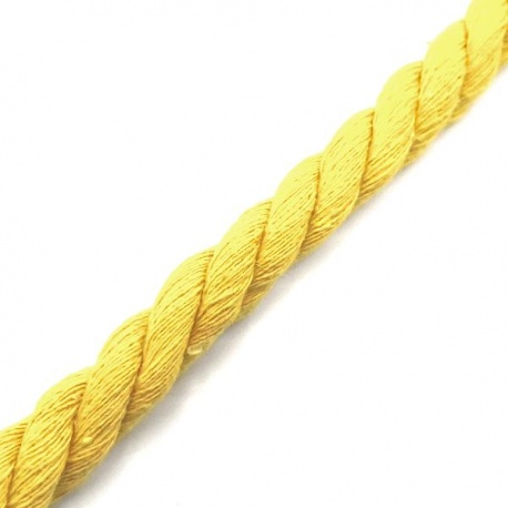 Cordón extra grueso fuerte algodón 12mm