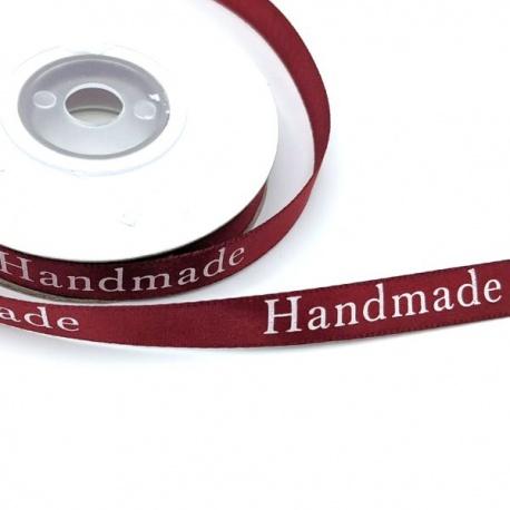 Rollo Cinta decorativa raso estampado HandMade