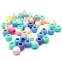Abalorios de 10mm tonos pastel