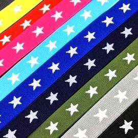 Goma elástica estrellas de 2cm
