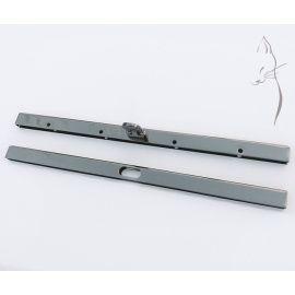 Boquilla recta tipo cofre para carteras y clutch color negro