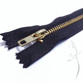 Cremallera metálica para pantalones 10cm