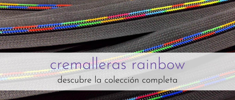 Cremalleras rainbow