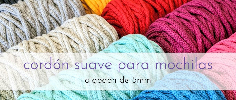 Cordones de algodón 5mm