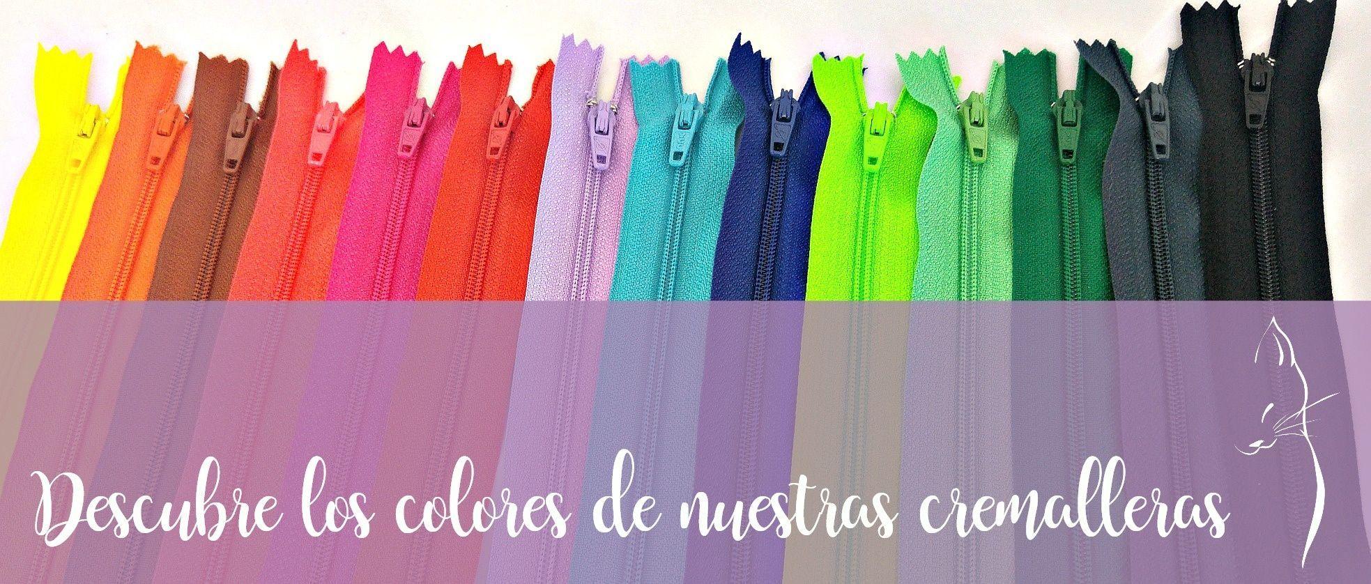 descubre los colores de nuestras cremalleras