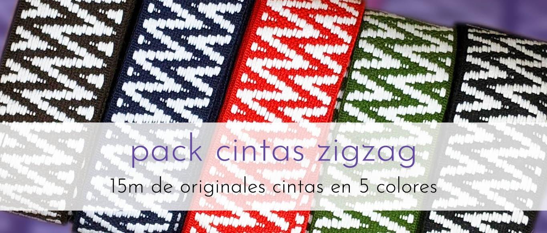 Pack de cintas ZigZag