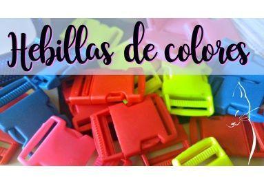 hebillas de colores